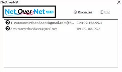 NetOverNet