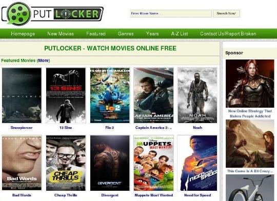 Putlocker Proxy and Mirror Sites