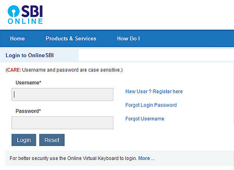 Apply SBI Debit Cards Online