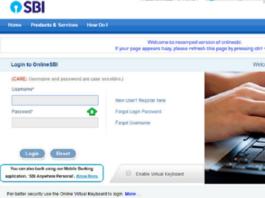 SBI Online Internet Banking