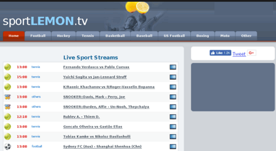 Streaming Sports Sites