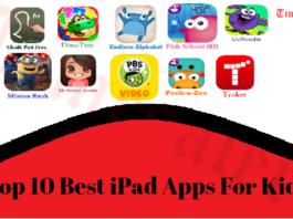 Top 10 Best iPad Apps For Kids
