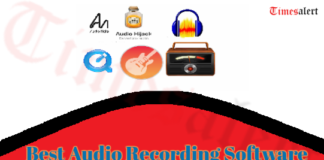 Best Audio Recording Software for Mac