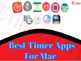Best Timer Apps For Mac