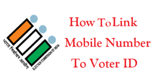 How to Link Mobile Number To Voter ID