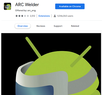Open Android Apk Files in Windows 10
