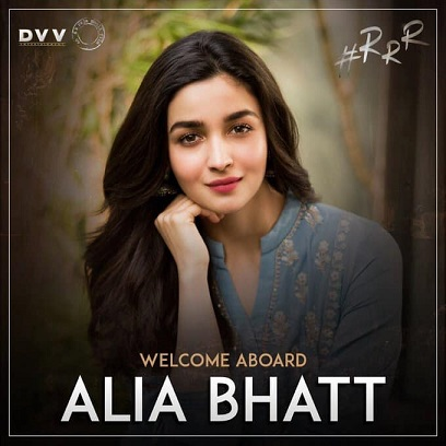 RRR Movie Heroine Alia Bhatt