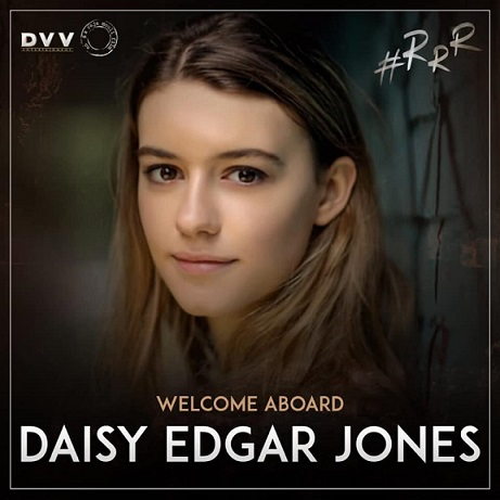 RRR Movie Heroine Daisy Edgar Jones