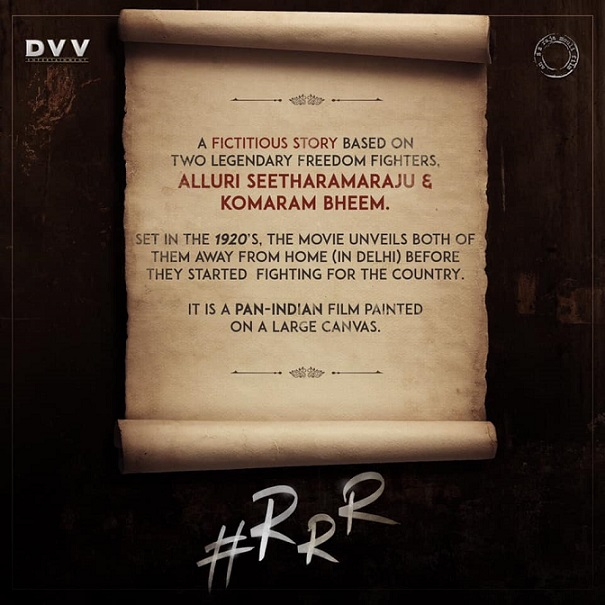 RRR Movie Story