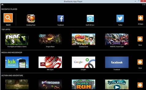 Run Android Apk Files in Windows 10
