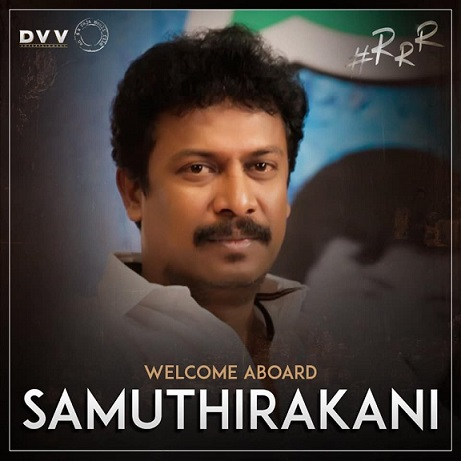 Samuthirakani RRR Movie