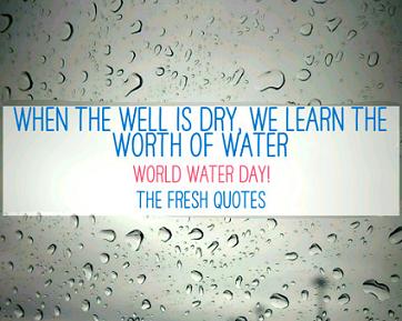 World Water Day Theme