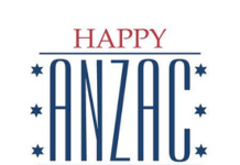Happy Anzac Day