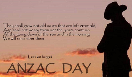 Happy Anzac Day Wishes