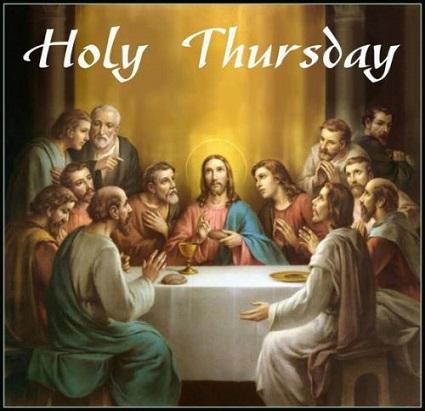 Holy Thursday Prayers