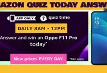 Amazon OPPO 11 Pro Quiz