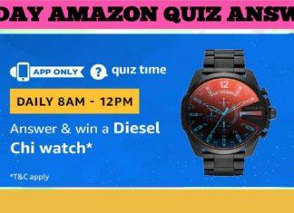 Diesel Chi Watch Amazon Quiz
