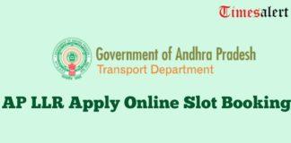 AP LLR Online Apply