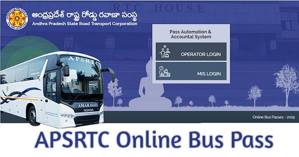 APSRTC Bus Pass Online