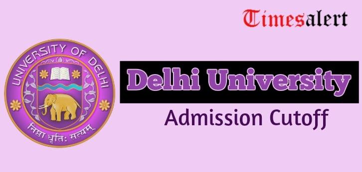 DU Cutoff List 2019 | Delhi University Admission Cutoff Released