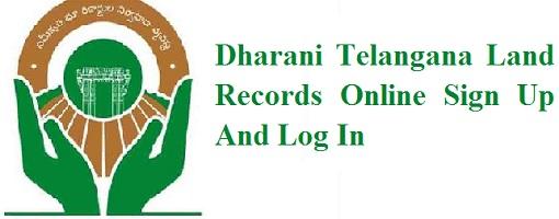 Dharani Telangana Land Records