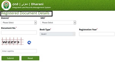 Dharani Website