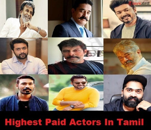 Highest Paid Actors In Tamil