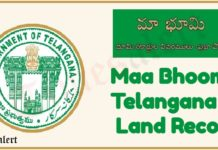 TS Maa Bhoomi Telangana Land Records