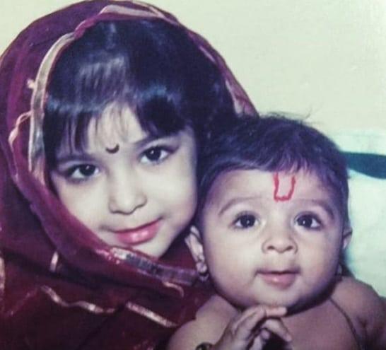 Neha Shitole Childhood Pics
