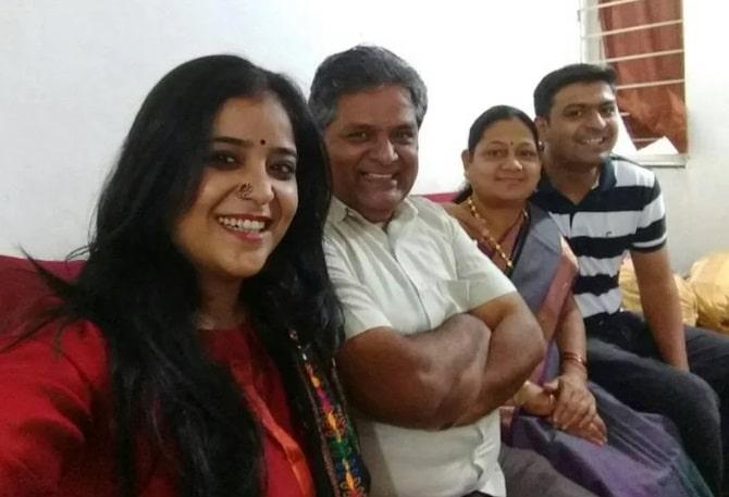 Neha Shitole Family