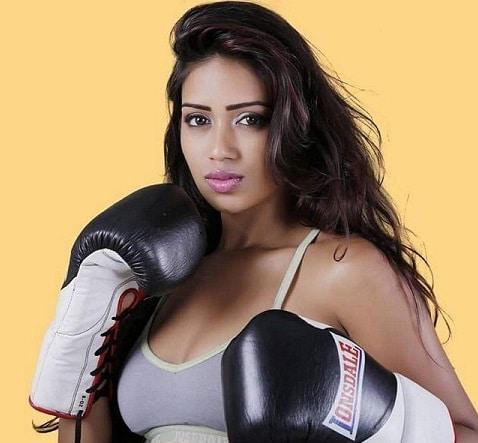 Nivetha Pethuraj Kick Boxing