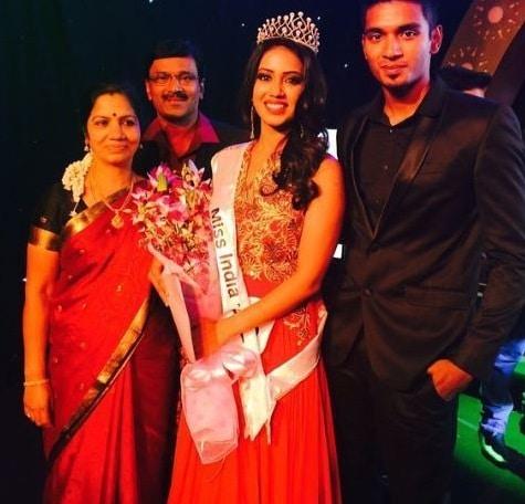 Nivetha Pethuraj Family