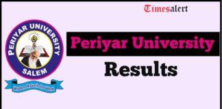 Periyar University Results
