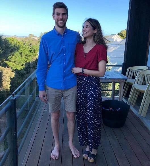 Priya Serrao With Her Boyfriend
