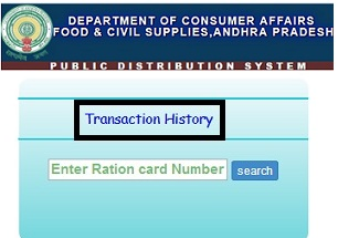 Ration Card Download