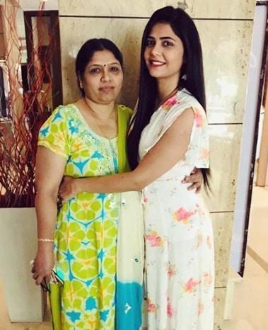 Veena Jagtap Mother