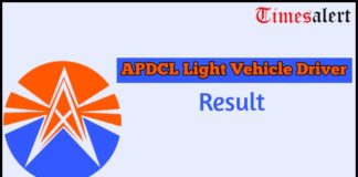 APDCL Light Vehicle Driver