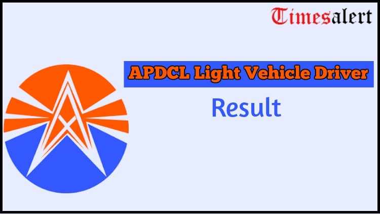 APDCL Light Vehicle Driver