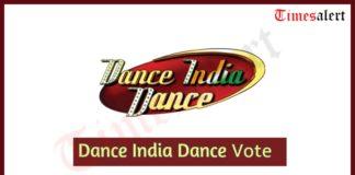 Dance India Dance Vote