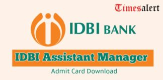IDBI Assistant Manager