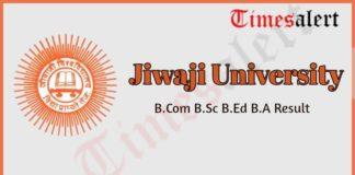 Jiwaji University Result