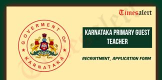 Karnataka Primary Guest Teacher