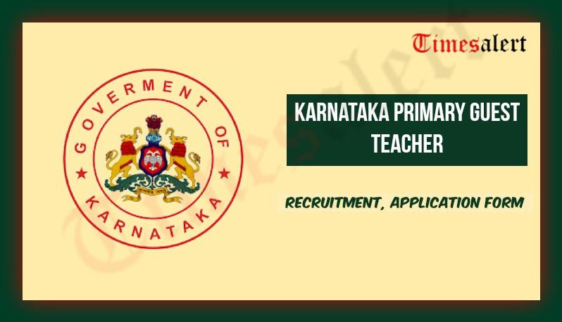 Karnataka Primary Guest Teacher