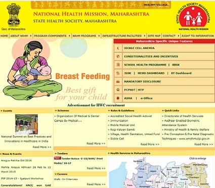 NHM Maharashtra CHO