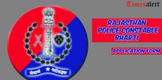 Rajasthan Police Constable Bharti
