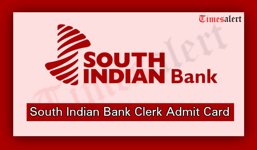 South Indian Bank Clerk