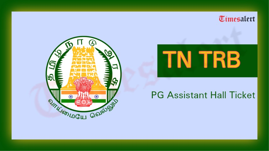 TN TRB PG Assistant