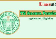 TS Aasara Pension Scheme