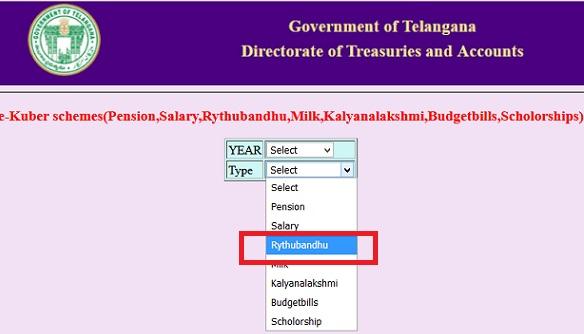 TS Rythu Bandhu Status