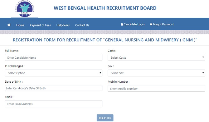 WBHRB Registration